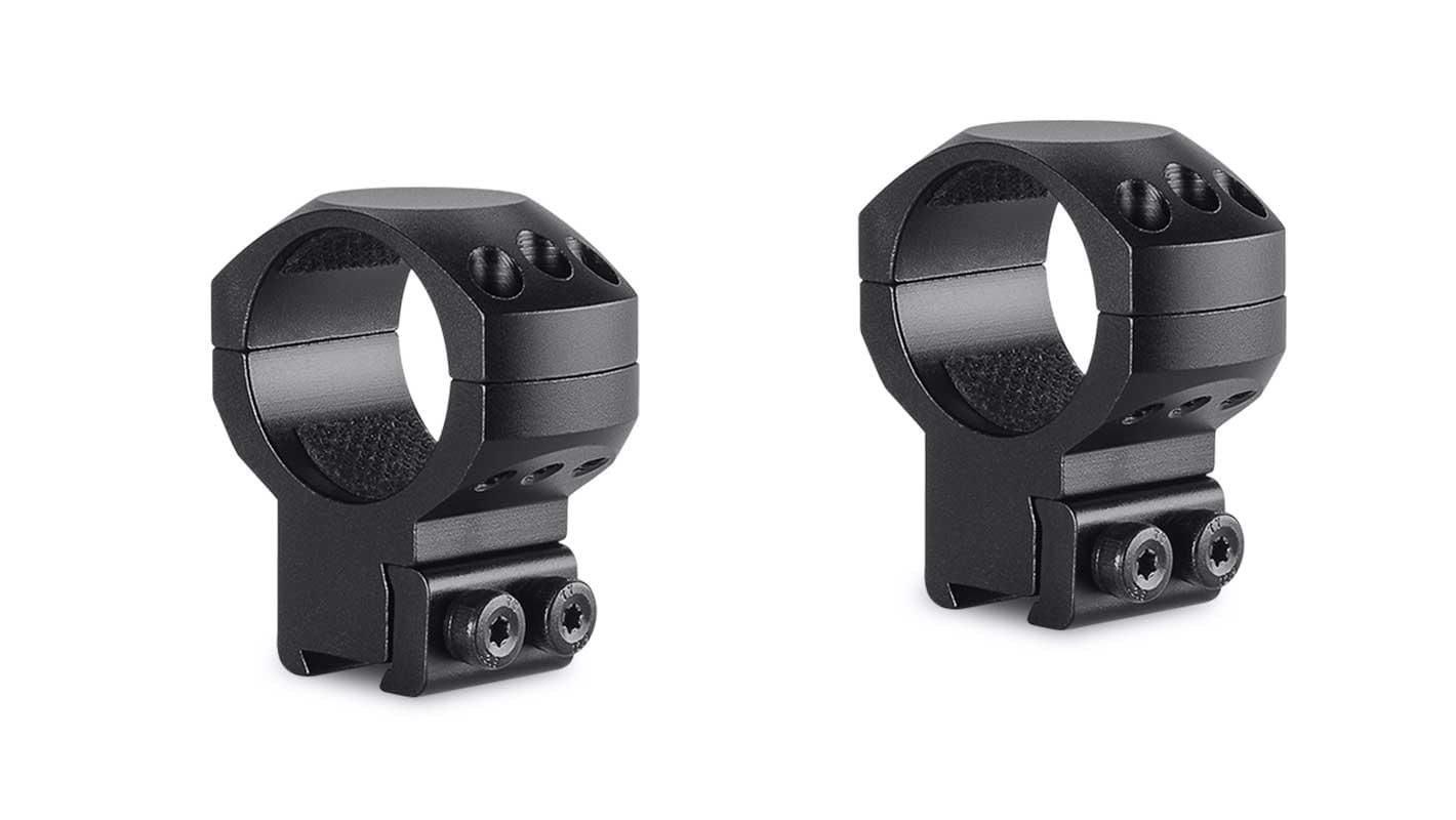 Tactical Ring Mounts 30mm 2 Piece  9-11mm High