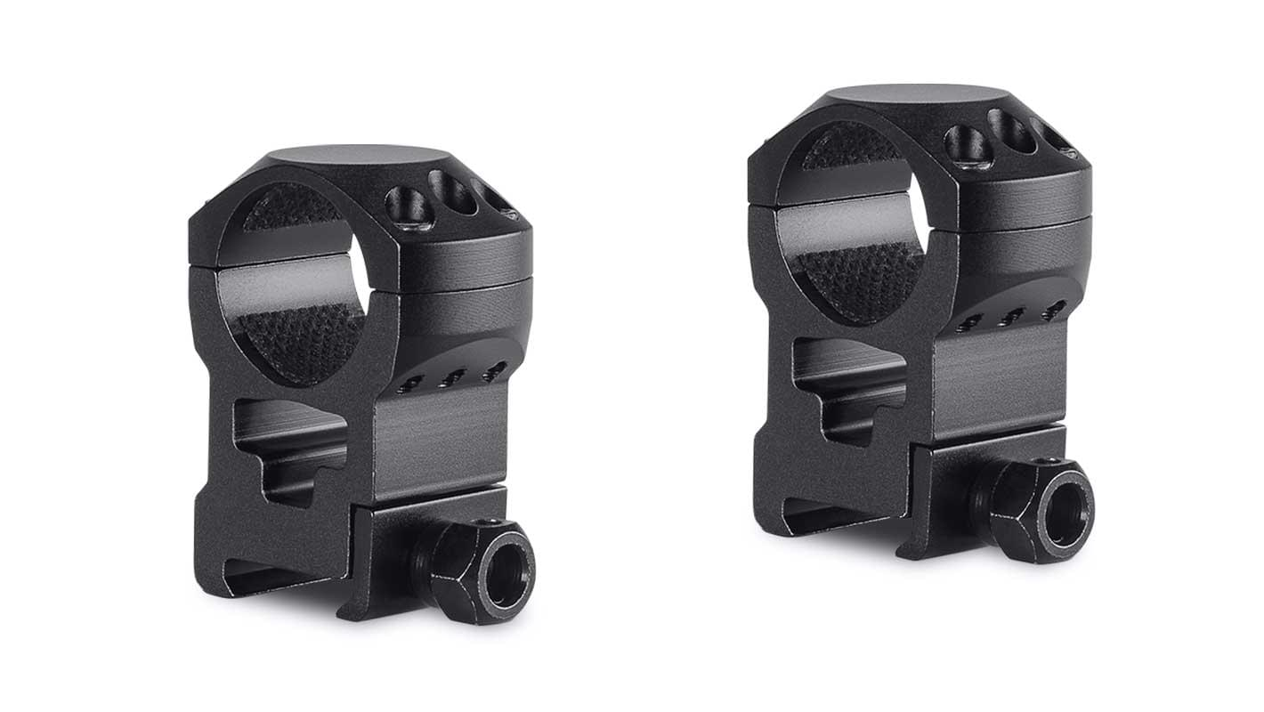 Tactical Ring Mounts 1'' 2 Piece  Weaver Extra High