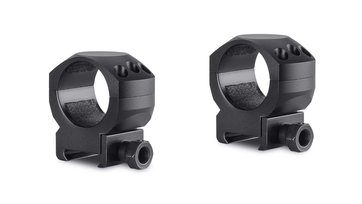 Tactical Ring Mounts 30mm 2 Piece  Weaver Medium