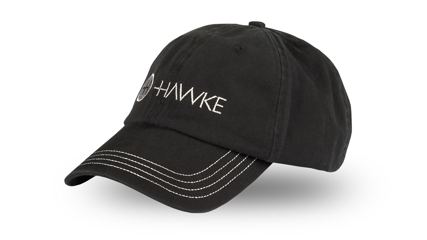 Distressed Cap Black/Grey